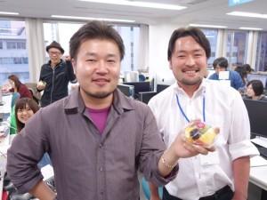 瓜二つ柿一つ